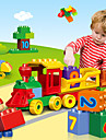 Blocos de Construir Conjunto de construcao de brinquedos Brinquedo Educativo 100 pcs Cauda Criativo compativel Legoing Criativo Alivia ADD, ADHD, Ansiedade, Autismo Interacao pai-filho Todos Para