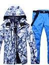ARCTIC QUEEN Homme Veste et Pantalons de Ski Etanche Coupe Vent Chaud Ski Snowboard Sports d\'hiver Polyester Ecologique Polyester Survetement Salopettes Hauts / Top Tenue de Ski / Hiver