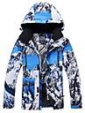 RIVIYELE Homme Femme Veste de Ski Coupe Vent Chaud Respirabilite Sports d\'hiver Coton Polyester Hauts / Top Tenue de Ski / Hiver