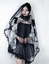 Black Swan Headpiece Veil Women\'s Movie Cosplay Black Headwear Halloween Carnival Masquerade Tulle