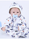 FeelWind Reborn Doll Baby Boy 22 inch Silicone Vinyl - lifelike Handmade Cute Kids / Teen Non-toxic Kid\'s Unisex Toy Gift