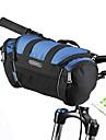 ROSWHEEL حقيبة المقود للدراجة حقيبة الكتف مكتشف الرطوبة يمكن ارتداؤها مقاومة الهزة حقيبة الدراجة PVC 600D بوليستر حقيبة الدراجة حقيبة الدراجة Samsung Galaxy S6 أخضر / الدراجة / سحاب مقاوم للماء
