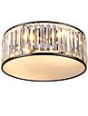 5 świateł Nowość Lampy sufitowe Światło rozproszone Malowane wykończenia Metal Kryształ, Ochrona oczu, Nowy design 110-120V / 220-240V