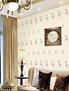Παντόφλες Nonwoven Κάλυψης τοίχων - κόλλα που απαιτείται Art Deco / 3D