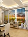 ταπετσαρία / Τοιχογραφία Καμβάς Κάλυψης τοίχων - κόλλα που απαιτείται Φλοράλ / Art Deco / 3D