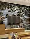 ταπετσαρία / Τοιχογραφία Καμβάς Κάλυψης τοίχων - κόλλα που απαιτείται Art Deco / 3D / Πέτρινο