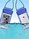 حقيبة واقية حقيبة الهاتف الخليوي حقيبة الهاتف المحمول إلى مكتشف الأمطار سوستة مقاومة للماء 6 بوصة PVC 15 m