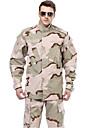 Homens Ao ar livre Prova-de-Agua Respiravel Vestivel Conjuntos Primavera Outono Inverno Caca, Esportes Relaxantes