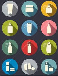 Kosmetikaflaskor