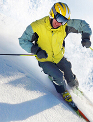 Skidor och snowboard
